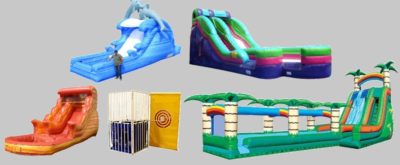 Waterslide and Water Game Rental Denver